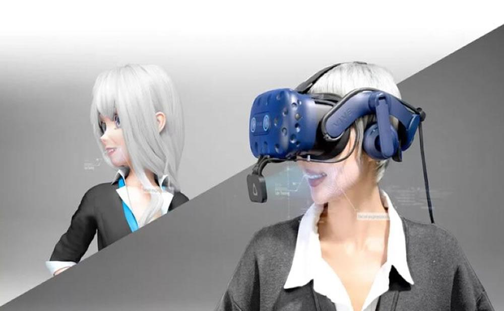 El seguimiento facial de HTC y Facebook VR permitirá el chat sexual en vivo de VR