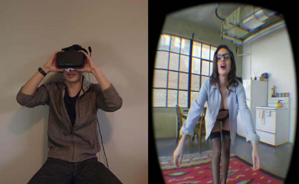 VR Latina: Reseña de sitio de realidad virtual que hace striptease o coqueteo lento y erótico