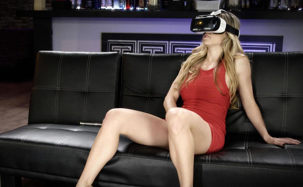 Fantasia femenina con porno de realidad virtual