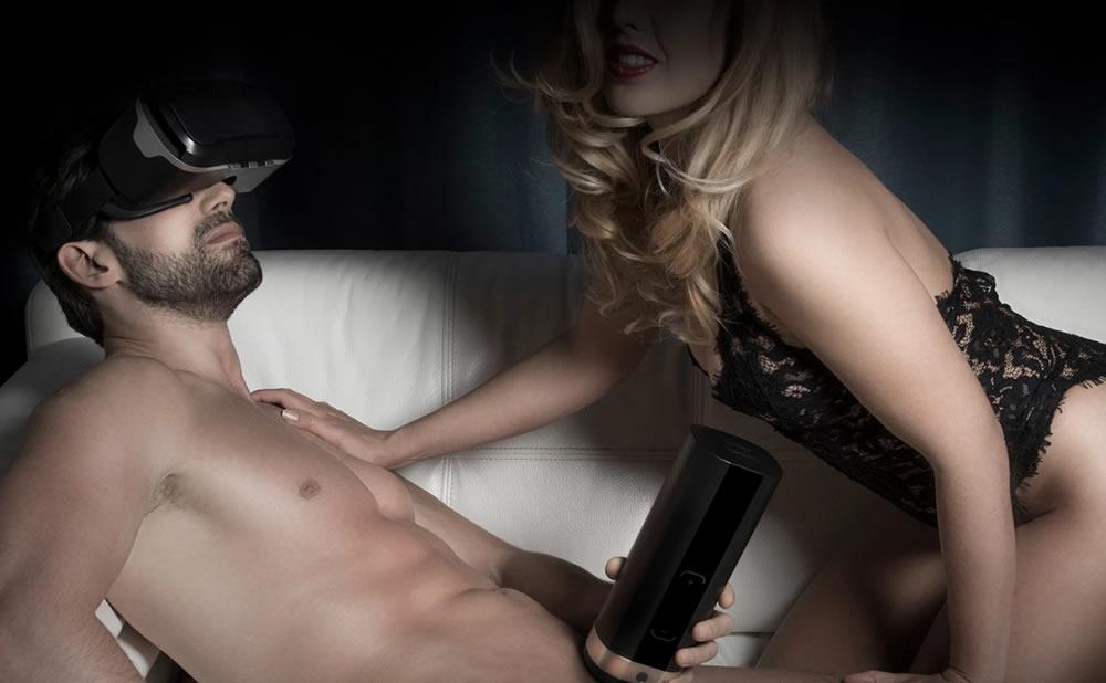 Sexo en realidad virtual sextoy