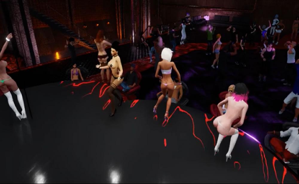 Explorar los avatares sexuales con CGI VR