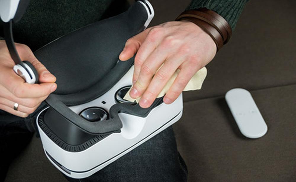 Consejos para cuidar las gafas de realidad virtual